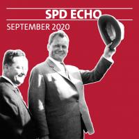Cover unseres neuen SPD-Echos