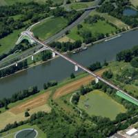 Plan zur Südbrücke
