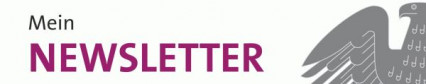 Banner Newsletter schmal